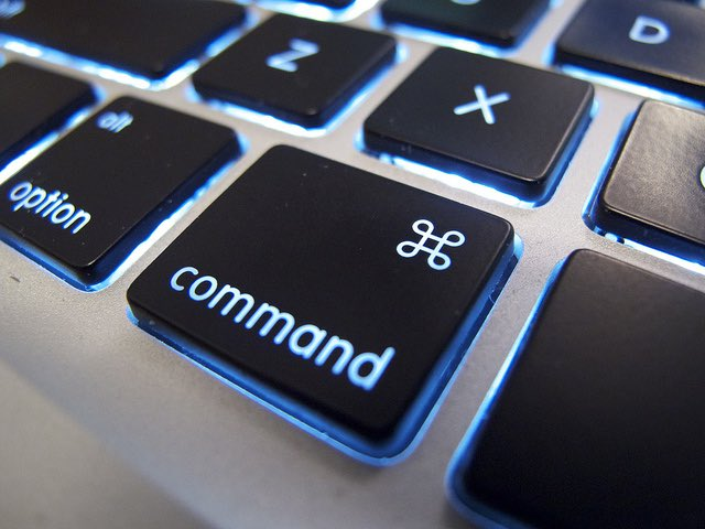 Command keyboard key