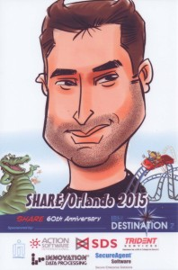 Rui's Caricature sponsored by Destination z